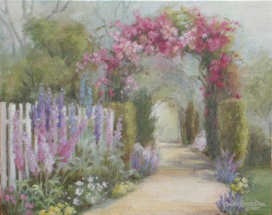 French cottage gardens - Christie Repasy Designs Home Page