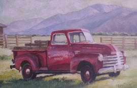 Rainbow Creek Ranch Truck