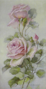 Upright Loose Pink Roses